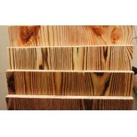 大量供应免漆炭化拉丝水曲柳木饰面板