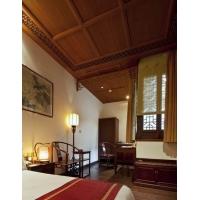 重庆新中式酒店办公实木定制家具