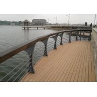 南京户外环保护栏塑木材料护栏
