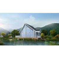 南京环保低碳塑木新材料生态集成房屋