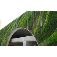 南京户外环保wpc垂直绿化植物墙