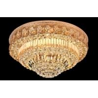 客厅灯圆形水晶灯饰LED吸顶灯