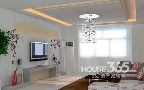客厅石膏线效果图 与众不同的设计时尚风