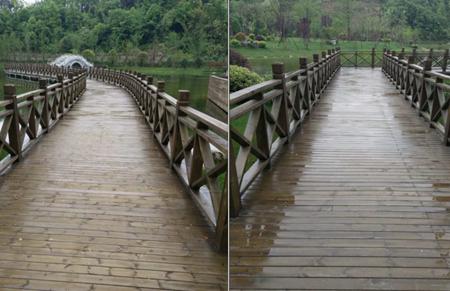 防腐木木栅栏
