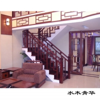 豪登樓梯-水木青華