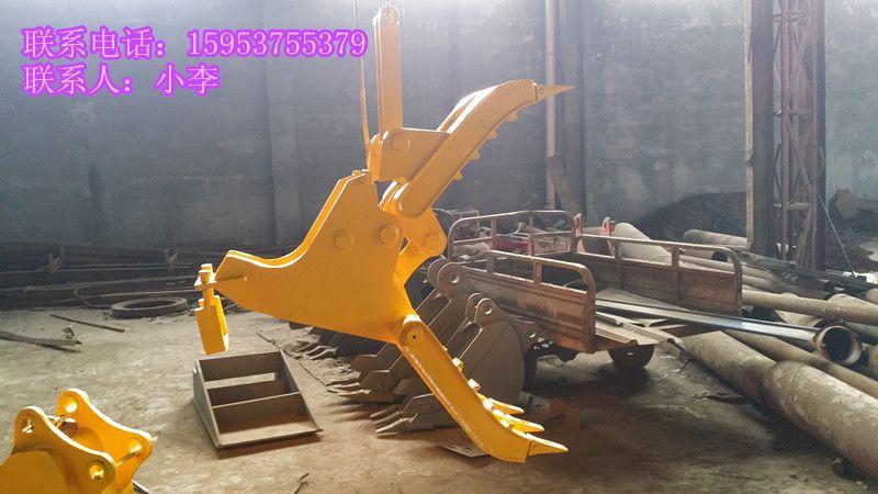挖掘机液压旋转抓木器---小松120图片