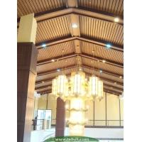 生态木吊顶阳台露天防水生态木天花材料