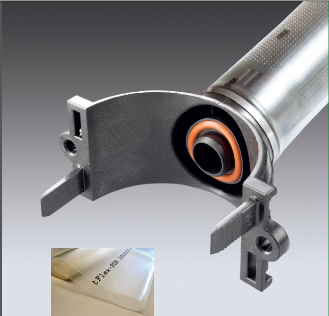 进口聚氨酯曝气管,PU膜管式曝气器