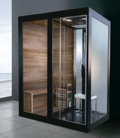 蒙娜丽莎干湿蒸1.8米香柏木干蒸桑拿房湿蒸蒸汽淋浴房