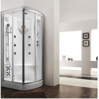 1米钻石形角位亚克力家用便宜湿蒸蒸汽淋浴房低价促销