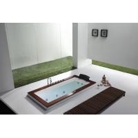 1.8米五件套室內家用單人嵌入式按摩浴缸帶花灑龍頭