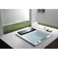 蒙娜丽莎1.9米室内夫妻鸳鸯浴双人嵌入式豪华按摩浴缸