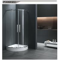 0.9米方形扇形简易淋浴房整体实用浴室隔断冲凉洗浴房