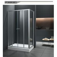 0.8米方形整体隔断长方形钢化玻璃浴室推拉淋浴冲凉房