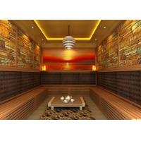 酒店会所别墅家用白松木汗蒸房干蒸房桑拿房可定做尺寸