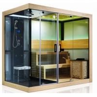 廠家直銷進口木材雙人干濕蒸房桑拿房蒸汽房