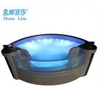 现货进口亚克力浴缸双人浴缸户外按摩浴缸独立式2.2M M-3
