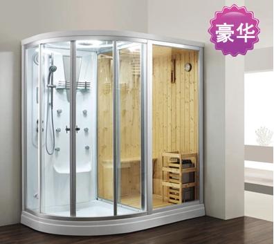 厂家直销 整体淋浴房 多功能干湿蒸桑拿房 家用整体淋洗浴室