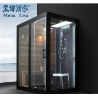 整体淋浴房隔断桑拿房蒸汽房干蒸房冲凉房 干湿分离
