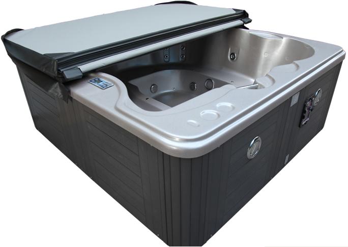 蒙娜丽莎正品户外独立式浴池 SPA冲浪按摩浴缸进口系统板材