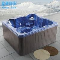 蒙娜丽莎正品 进口亚克力七彩泡泡浴 户外按摩浴缸冲浪浴缸