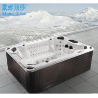 3米8人户外SPA 冲浪按摩浴缸带泡泡浴 出口品质