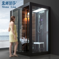 电脑恒温整体淋浴房冲凉房带干湿蒸 钢化玻璃汽车用级别