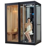 玻璃整体淋浴房冲凉房淋浴隔断 带桑拿房蒸汽房