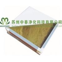 批发优质岩棉彩钢板 机制岩棉彩钢板 岩棉净化板