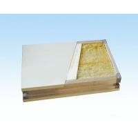 中春 双玻镁岩棉彩钢板 玻镁岩棉防火板 玻镁岩棉净化板