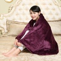 愛貝斯全線路控溫自動恒溫法蘭絨單人暖身毯 電褥子 電熱毯