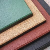 户外橡胶地砖地垫 学校跑道地砖颜色 防滑防摔地垫橡胶