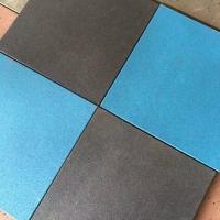 【中顺】学校塑胶跑道橡胶地砖 减震橡胶地垫 健身房橡胶地砖