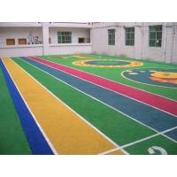 学校塑胶跑道橡胶地砖 减震橡胶地垫 健身房橡胶地砖