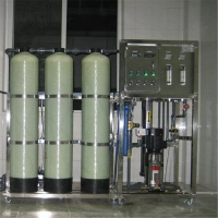 500L/小时纯净水桶装水设备  0.5吨小型RO反渗透设备