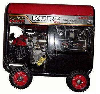 8kw汽油发电机库兹原装动力