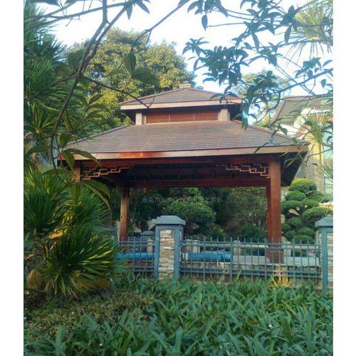 信浴园林绿化景观、防腐木、户外庭院---山楂木防腐木 XY0