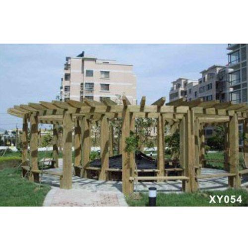www.402.com绿化景观、防腐木、户外庭院---深度炭化木防腐木 X