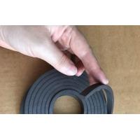 自吸门帘橡胶磁条自吸门帘用橡胶磁条门帘包边磁条5*8