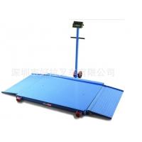 移动斜坡式平台秤1吨带轮子地磅3吨移动地磅