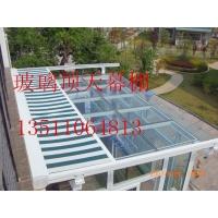 北京遮阳篷定做电动遮阳蓬曲臂遮阳棚安装玻璃房顶遮阳隔热天幕棚