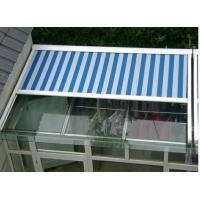 北京电动遮阳蓬 玻璃房顶遮阳隔热天幕棚户外遮阳帘