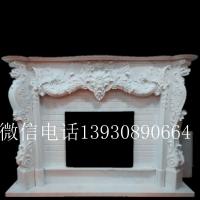 曲阳石雕壁炉室内壁炉汉白玉欧式取暖欣赏壁炉雕刻加工