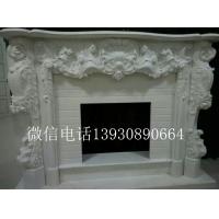 欧式石雕壁炉家居墙壁取暖装饰精品壁炉工艺品雕刻