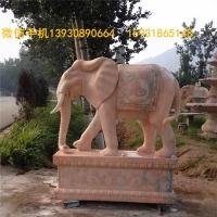石雕大象雕塑 大象石雕图片 加工石雕象厂家
