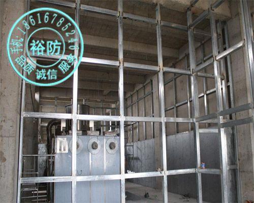 上海裕防建筑9*2440*1220甲乙类厂房防火墙泄压墙防爆
