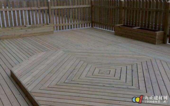 防腐地板图片1
