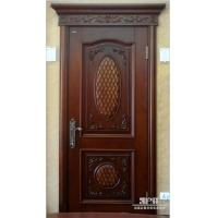 高端别墅室内门进口实木凯户祥品牌手工雕刻欧式门KX-811