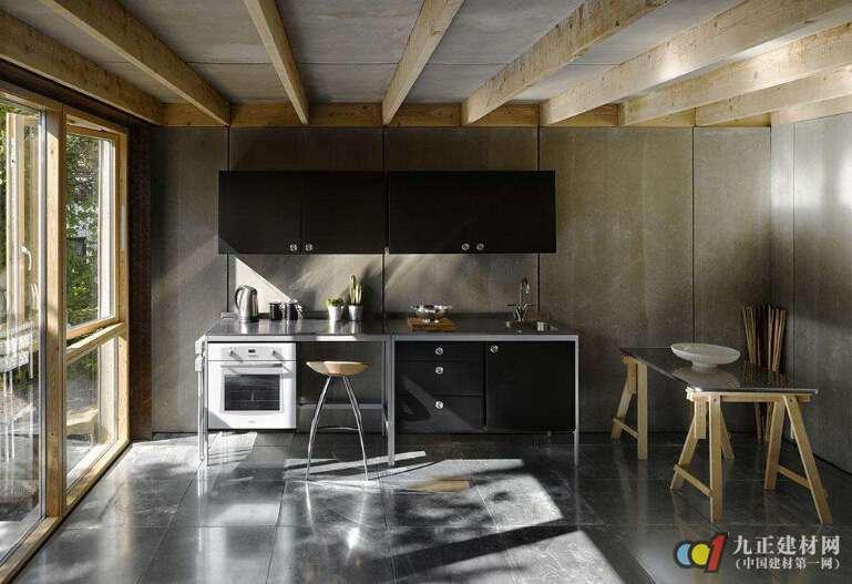 开放式厨房吊顶的特点 开放式厨房吊顶材料挑选技巧图片