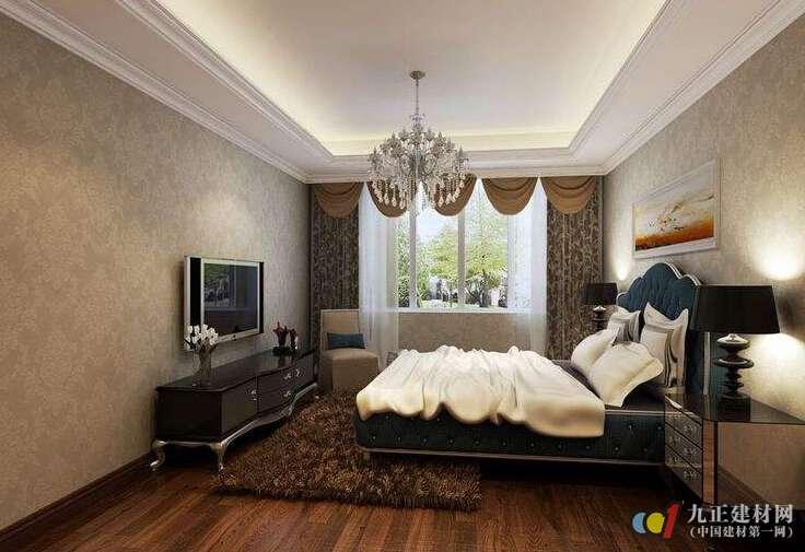 美式卧室吊顶